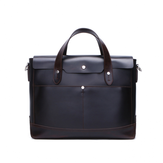 Men's Vintage Genuine Leather Briefcase